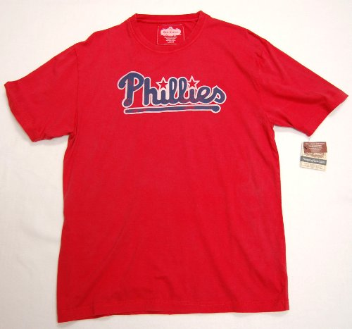 - Philadelphia Phillies Vintage Retro Logo T-Shirt By Red Jacket -XX-Large
