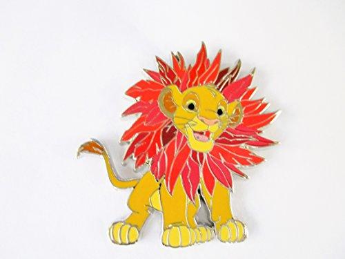 Disney Trading Pin - Simba The Lion King Booster - Disney King Pin