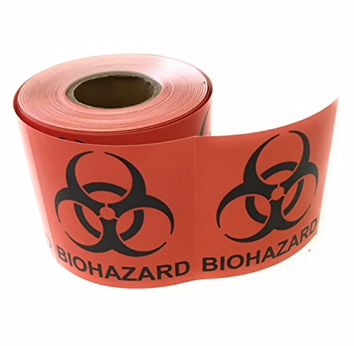 Biohazard Sticker - Biohazard Warning Label, 2