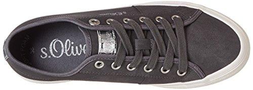 S.oliver Damen 23602 Sneaker Grau (antracite)