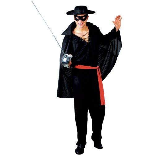 [Bandit Mask Hero Adult Mens Fancy Dress Costume] (Bandit Child Costumes)
