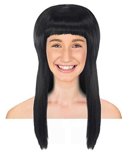 HalloweenPartyOnline Elvira Black Vampiress Wig HW-1379 -