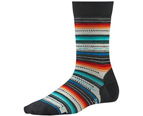 Smartwool Women's Margarita Sock, Black Multistripe size S(shoe size 4-6.5)