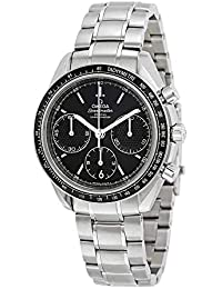 9e7e0914badc0 Speedmaster Racing Automatic Chronograph Black Dial Stainless Steel Mens  Watch 326.30.40.50.01.001
