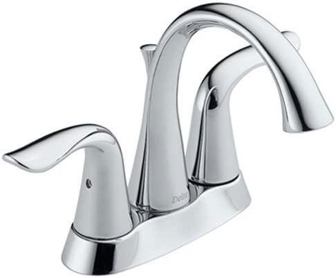 Delta Faucet Lahara 2 Handle Centerset Bathroom Faucet With