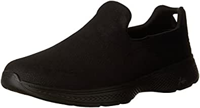 Skechers Performance Men's Go Walk 4 Remarkable Walking Shoe,Black, 10 UK (45 EU)