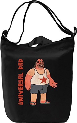 Universal dad Borsa Giornaliera Canvas Canvas Day Bag| 100% Premium Cotton Canvas| DTG Printing|