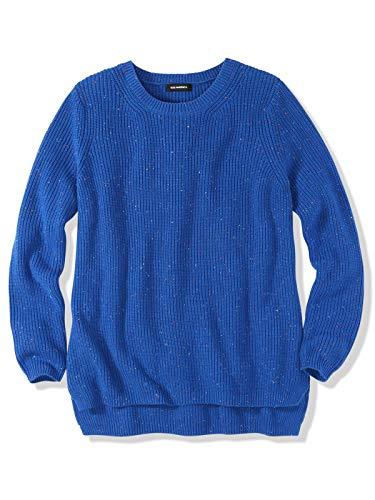 525 America Women's Emma Cotton Shaker Stitch Crewneck Sweater