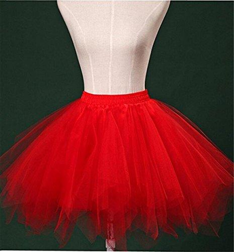 Bubble Jupe Jupon Fonc 1950 Petticoat annes des Ballet Vert Tutu Tulle RuiyuhongE BZpqwCn