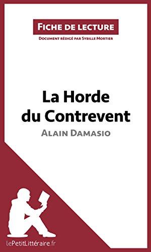pdf la horde du contrevent fabuleux livre