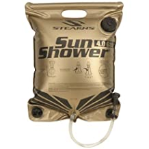 4-Gallon Portable Shower Made From Heat Locking Material That Warms Water Under The Sun, Ideal For Camping And Storing Water By Coleman Stearns