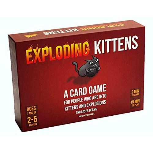 Exploding Kittens Card Game -...