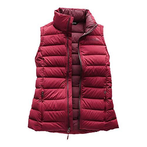 The North Face Stretch Down Vest - Women's (Rumba Red, M)