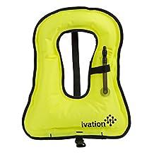 Snorkel Vest - Snorkel jacket - Snorkeling Diving Vest -Inflatable - Free-Diving Dive Safety Water Safety,Medium