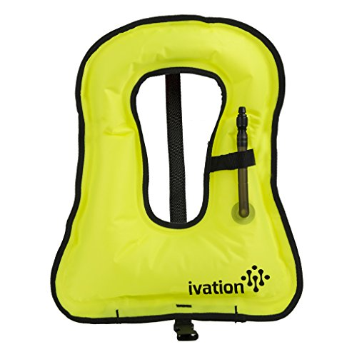 Snorkel Vest - Snorkel jacket - Snorkeling Diving Vest -Inflatable - Free-Diving Dive Safety Water Safety,Medium