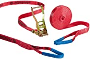 Slackstar SL81792-15/35 Set de Slackline pour débutants Rouge