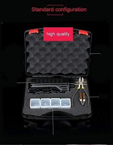 Grapadora caliente de 220 V para auto kit de herramientas de reparaci/ón de grapas pistola de soldadura