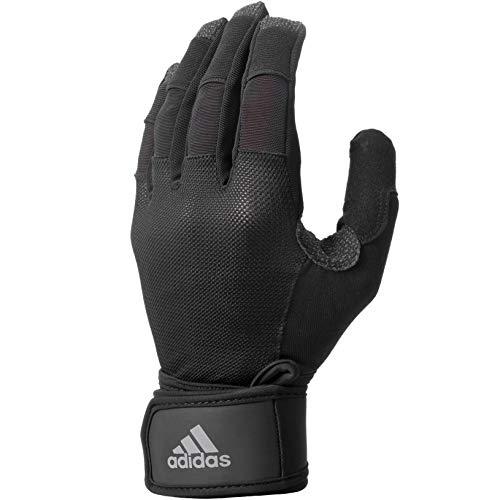 adidas Ultimate Training Glove - Black/Silver, Small