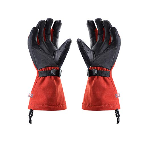 KAILAS GORE-TEX 3-in-1 Pro Ski Gloves – Women's(Dark Red,S) by KAILAS (Image #4)