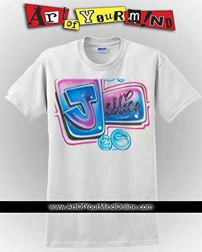 Airbrushed Colorful Name Tee ()