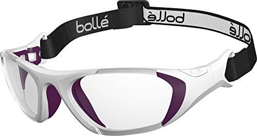 Bollé Baller Strap Lunettes Sport Protective Mixte Enfant Blanc/Violet strap