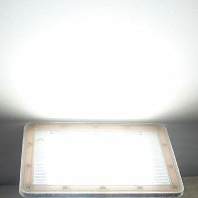 White light, 20W : B2OCLED Ultra-fino LED flood light 220V 20W 50W 1.5 cm despessura floodlight white light outdoor lighting refletor led lights