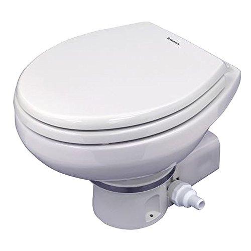 (Dometic MasterFlush 7160 White Electric Macerating Toilet)