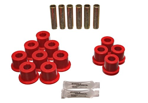 Energy Suspension 3.2108R Rear Spring Bushing for GM 2 and 4WD