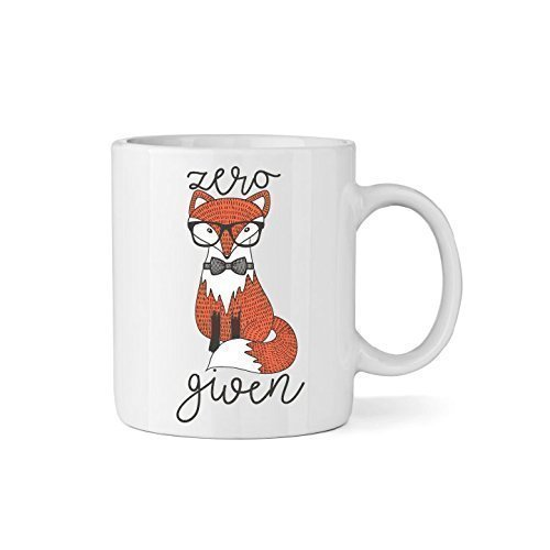 - Zero Fox Given Ceramic Coffee Mug - 11oz Coffee Cup - Fox & Clover Original