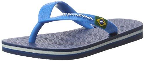 Ipanema Mädchen Classic Brasil Ii Kids Zehentrenner Blau (Blue/Blue)