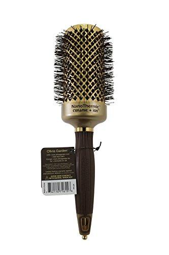 Olivia Garden Nano Thermic Ceramic Ion Brush, 2 1/8 Inch (Ceramic Hair Drying Brush compare prices)