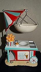 Yankee Candle Ice Cream Cart Hanging Tart Wax Burner/Warmer
