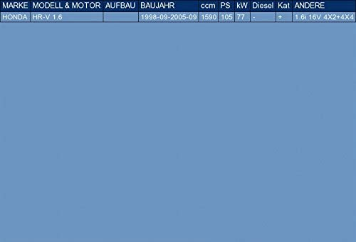 pour HR-V 1.6 105hp 1998-2005 el kit de montaje completo ETS-EXHAUST 52733 Silencioso Trasero