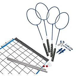 VERUS SPORTS CHAMPION 2-GAME SET VOLLEYBALL/BADMINTON SET