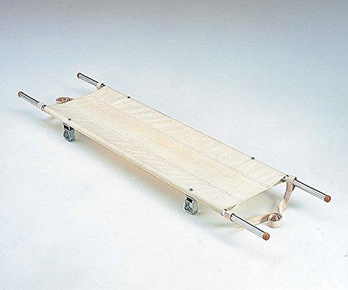 松永製作所0-5131-03二ツ折担架[把手伸縮式]スチール製540×1790~2270mm8.0kg B07BD2LVV9