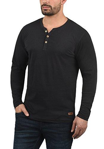 À solid shirt T Manches Black Homme Volko 9000 Tunisien Longues qHtH7xarw