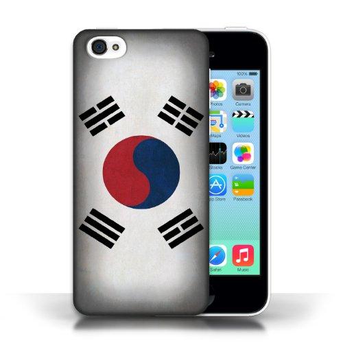Etui / Coque pour Apple iPhone 5C / Corée/coréen conception / Collection de Drapeau