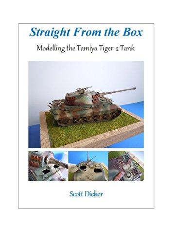 Straight From the Box: Modelling the Tamiya Tiger 2 Tank (Tamiya Magazine)