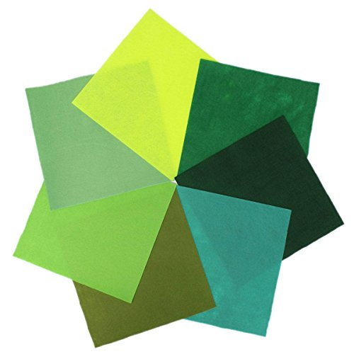 KINGSO Assorted Fabric Patchwork 30x30cm
