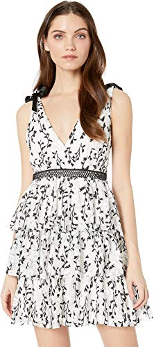 - Bardot Women's Jade Mesh Dress Ivory Medium
