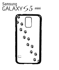 Cat Paw Kitten Meow Mobile Cell Phone Case Samsung Galaxy S5 Mini White