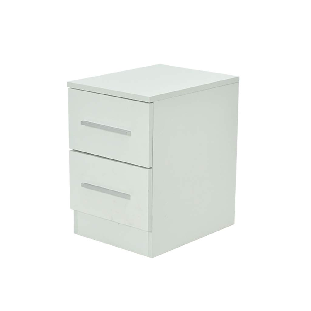 LQQGXLBedside Table Bedside Table Narrow Cabinet with Drawer Mini Bedroom Bedside Table Small Side Table (Color : 1, Size : 304045cm) by LQQGXL