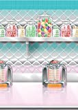Amscan International Scene Setter Roll Soda Shop by KidsPartyWorld.com