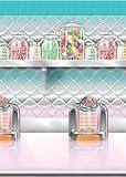 Amscan International Scene Setter Roll Soda Shop