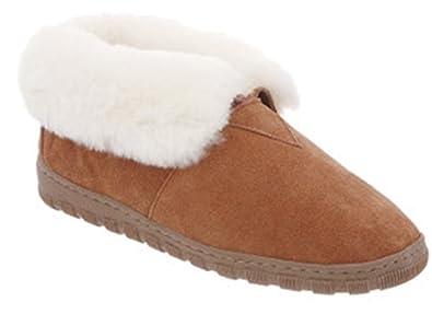 a2183e7b6 Cloud Nine Sheepskin Women's Ladies Bootie Slipper, Chestnut, 5 M US ...