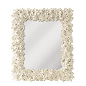 Grasslands Road Everyday Life Mirror, White Orchid, 13.25 by 11.5-Inch