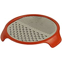 Over The Top Pizza Cheese Grater - Cheese Shredder Non-Slip Feet for Easier, Faster Grating PC0414