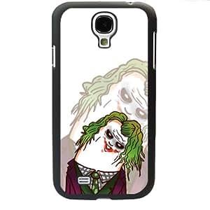 Popular Cute Cartoon Joker Jack Napier Samsung Galaxy S4 SIV I9500 TPU Soft Black or White case (Black)