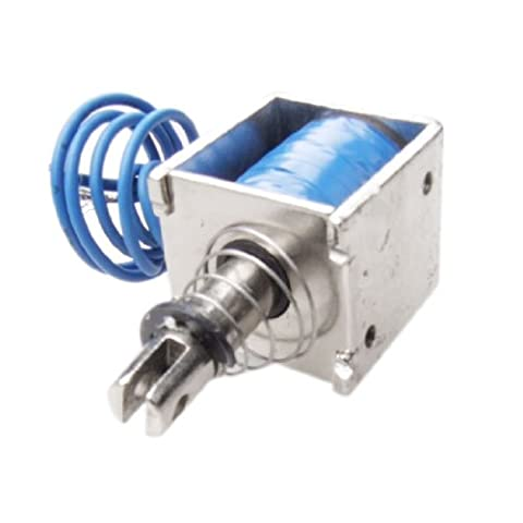 Uxcell 20N 2A Pull Type Linear Solenoid Electromagnet, DC 12V, 10 (Amici Pacchetto)