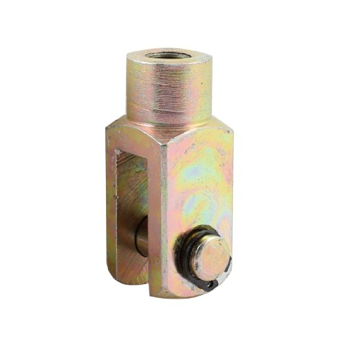 uxcell M10 Thread Cylinder Rod Clevis End Y Joint for 32mm Bore Air Cylinder